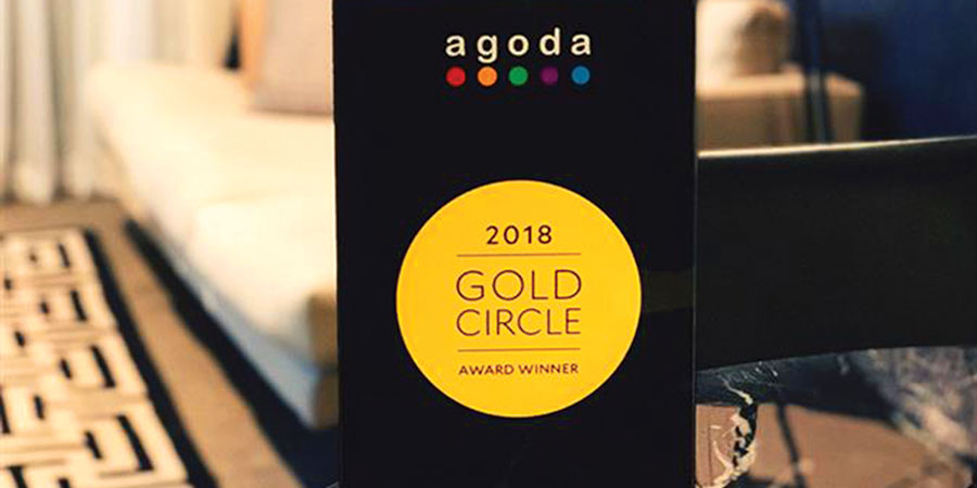 Colombo Court Hotel & Spa wins Agoda's 2018 Golden Circle Award