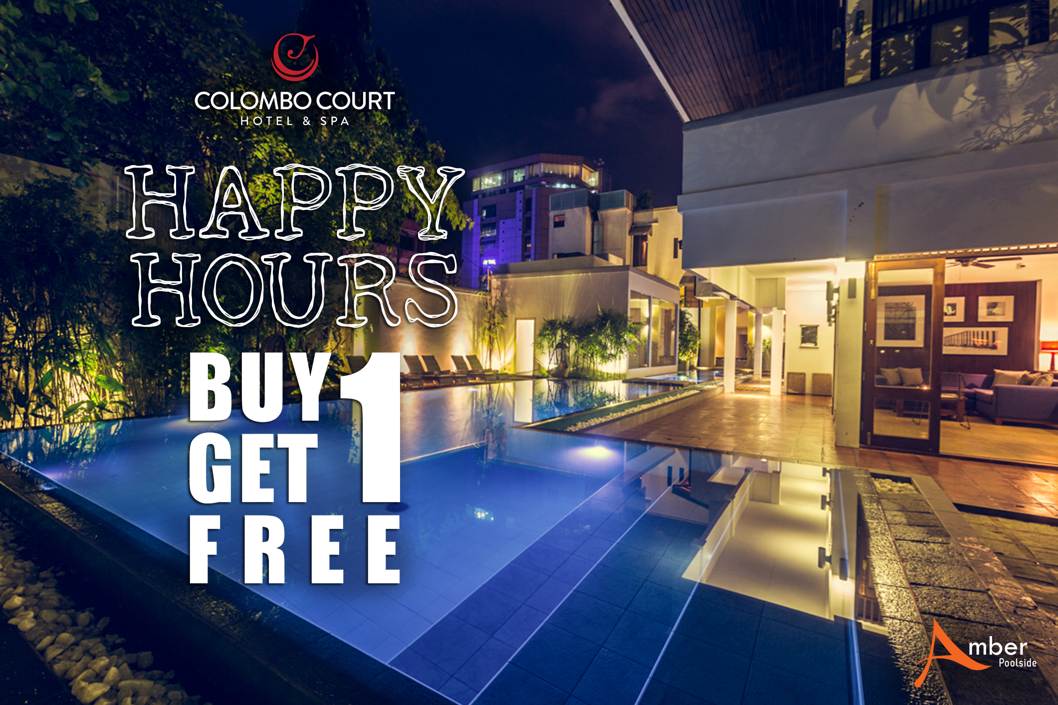 Colombo Court Hotel & Spa Announce Buy 1 Get 1 Free