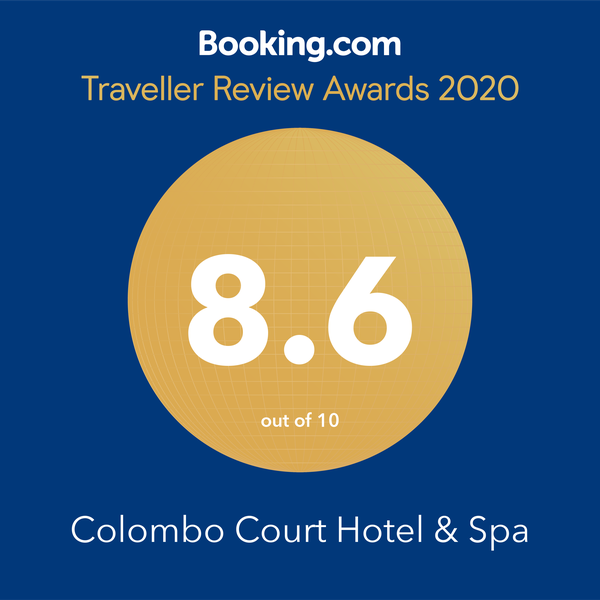 Colombo Court Hotel & Spa wins at the 'Traveller Review Awards 2020'  with outstanding performance