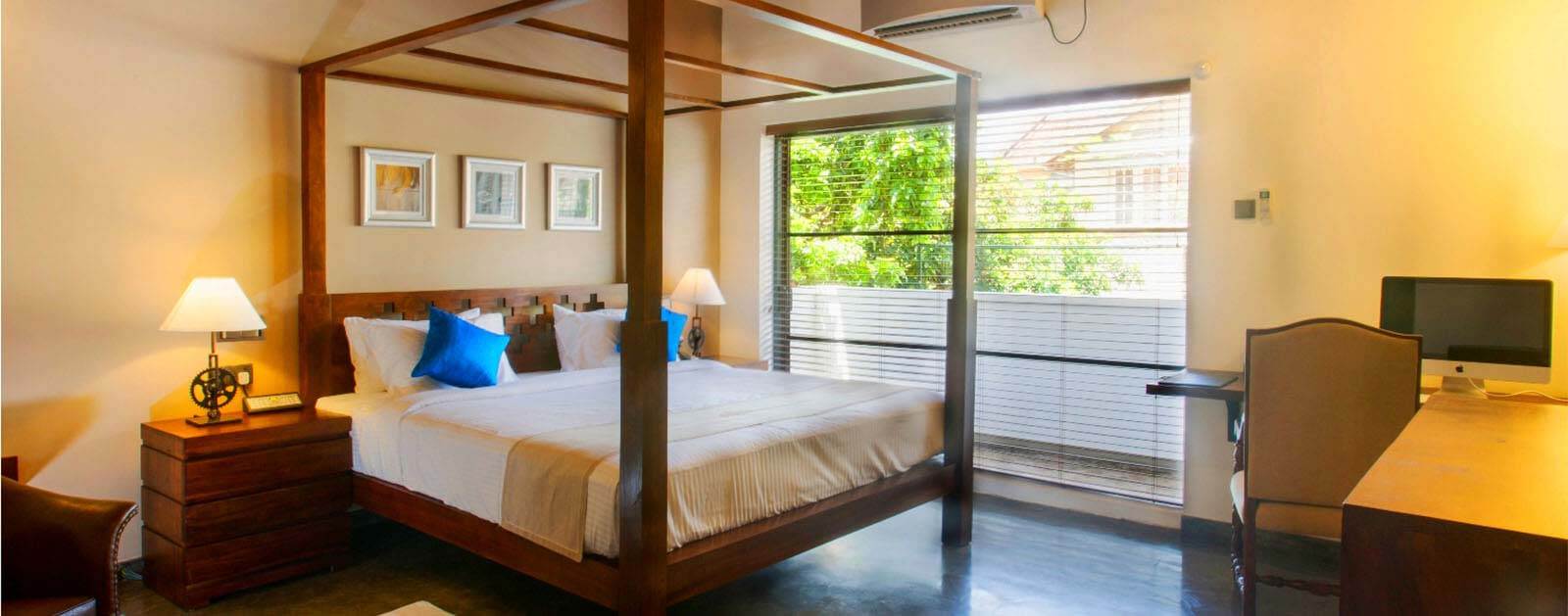 Comfortable Suites in Colombo Courtyard