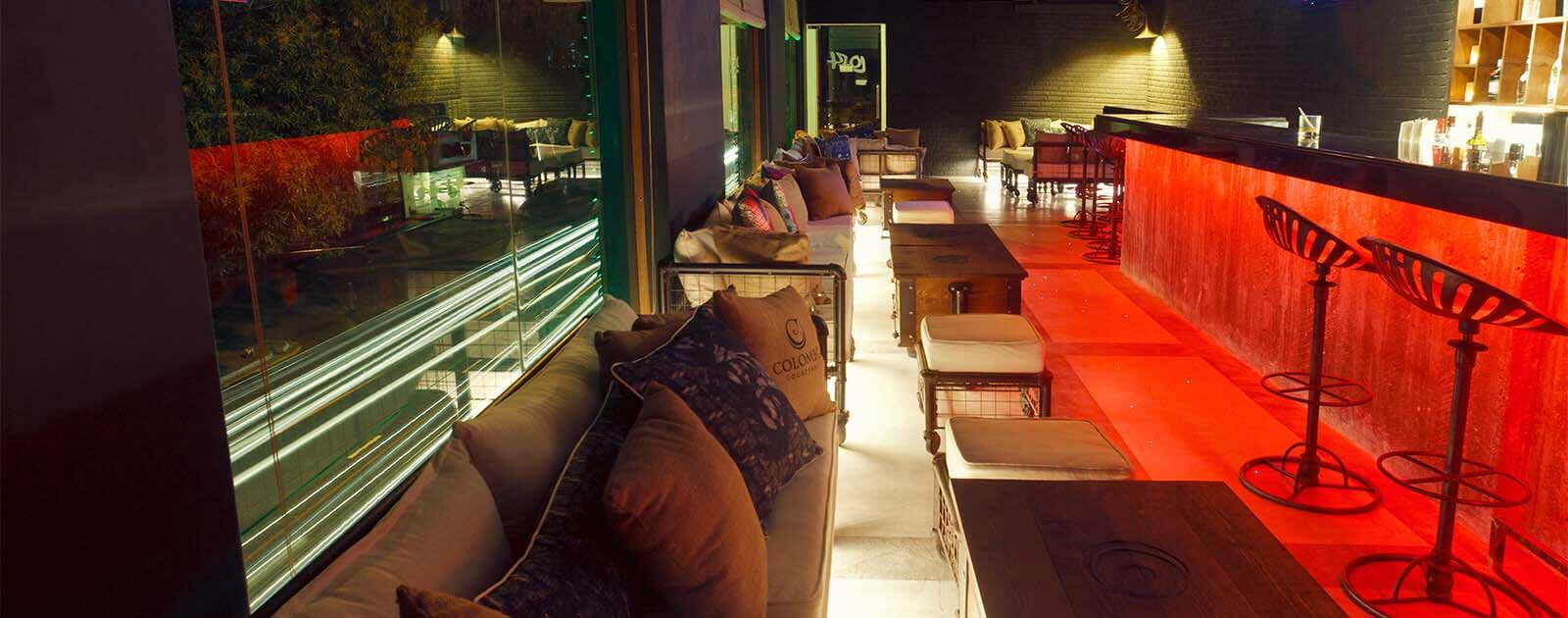 Loft Lounge Bar of Colombo Courtyard hotel