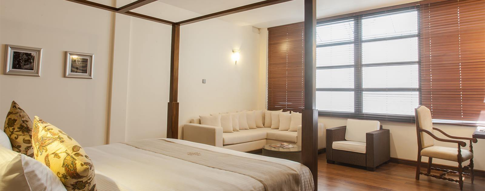 Comfortable accommodation in Colombo