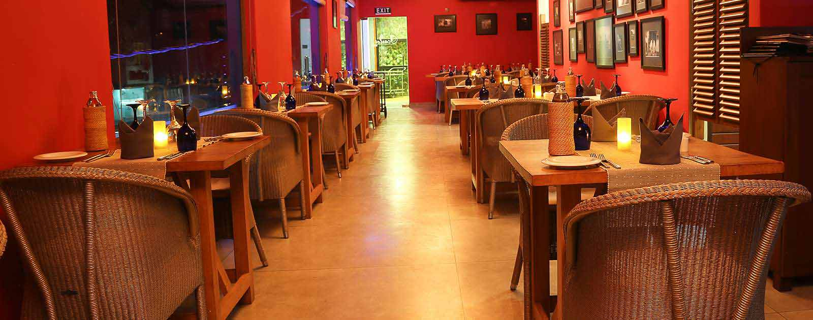 Romantic Hotel restaurants in Colombo