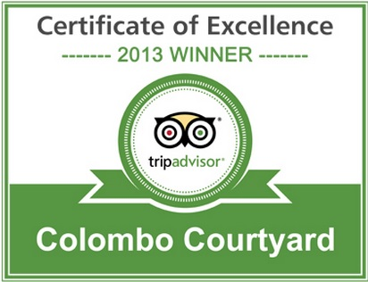 TripAdvisor certificate of excellence hotels Colombo