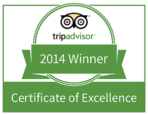 Trip Advisor Certificate of Excellence for Colombo Hotels