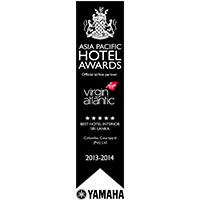 Asia pacific hotel awards winner