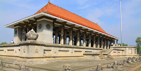 Excursions of Colombo Courtyard; Independent Square in Sri Lanka