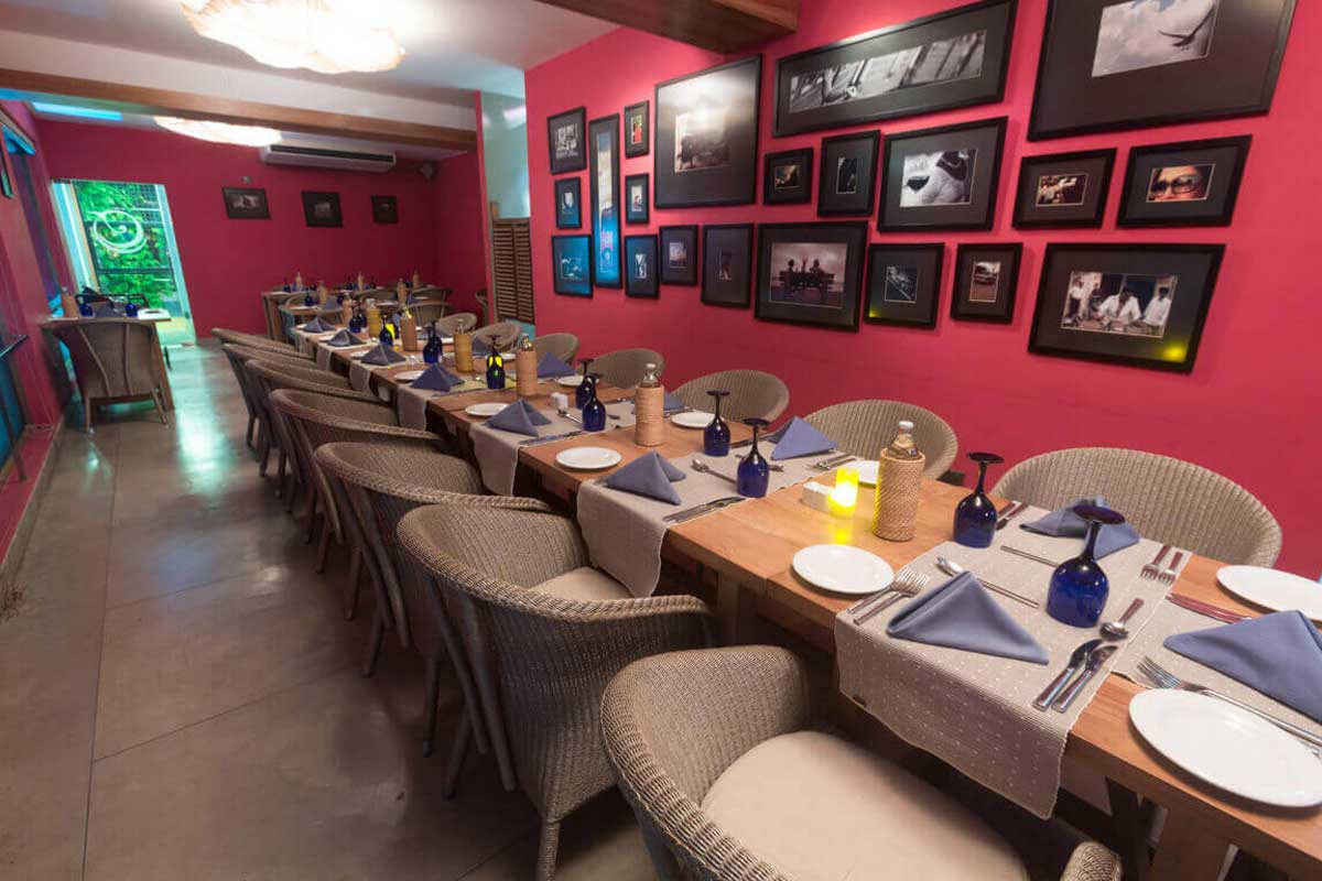 Restaurants in Colombo boutique hotels